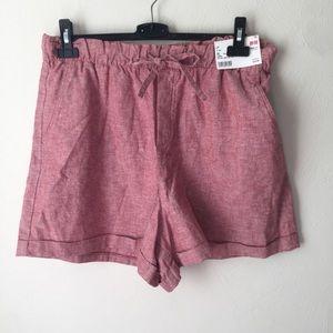 Uniqlo Shorts - Uniqlo Relaxed Linen Shorts